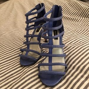 Periwinkle Cage Stilletto